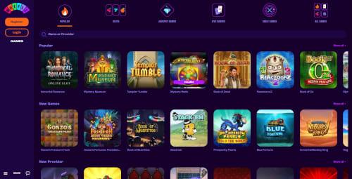 Wheelz Casino Games