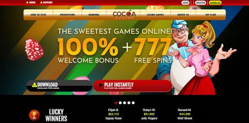 Cocoa Casino Bonus