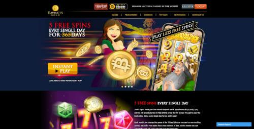 Davinci's Gold Bonus