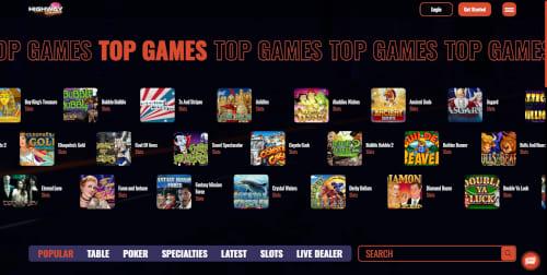 Highway Casino Games