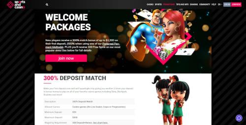 Sports and Casino Bonus
