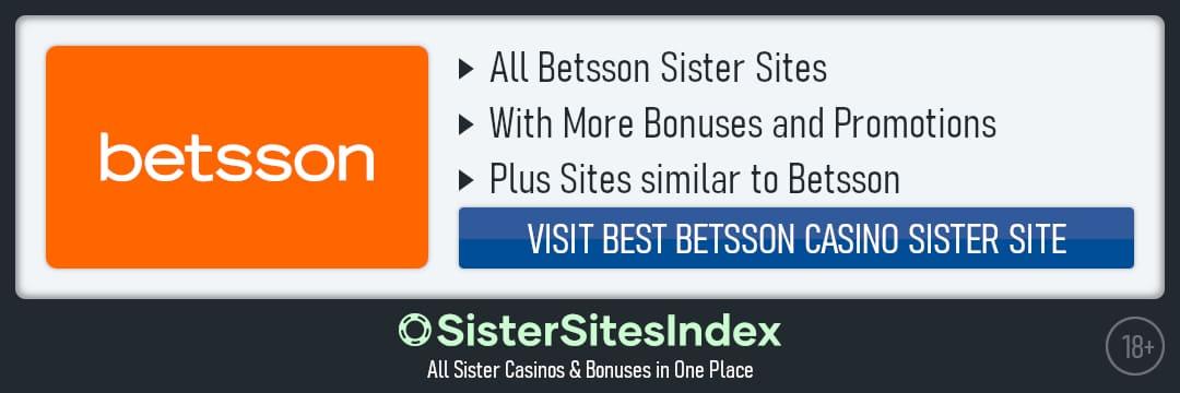 Betsson sister sites