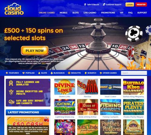 Cloud Casino Bonus