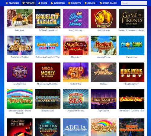 Cloud Casino Games