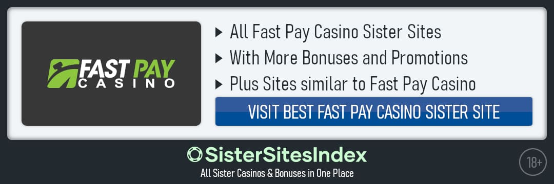 FastPay Casino sister sites