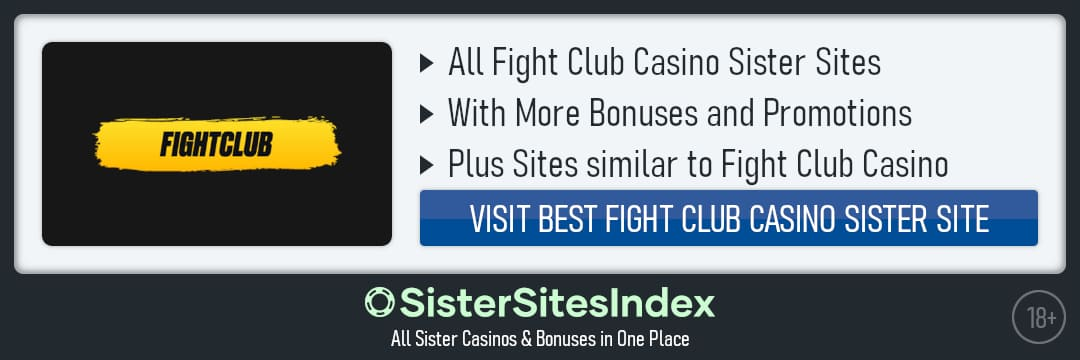 Fight Club Casino sister sites