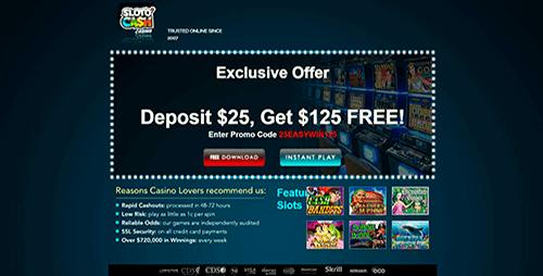 Slotocash Casino Bonuses