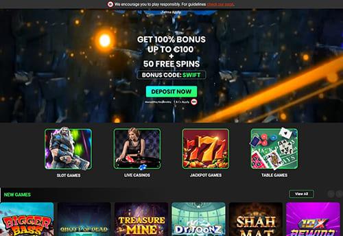 Swift Casino Bonus
