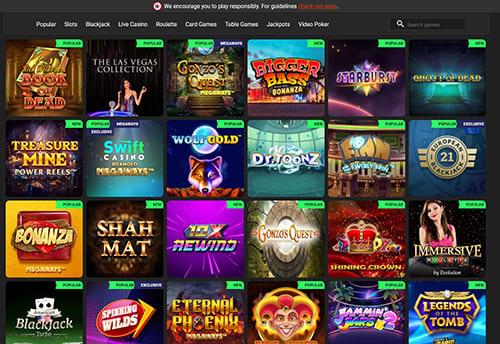 Swift Casino Games