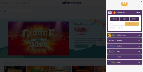 Wishmaker Payments