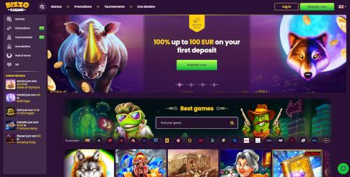 Bizzo Casino Bonus