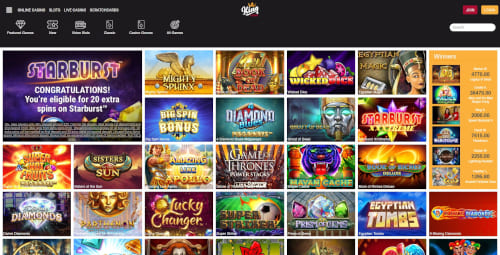 King Casino Games