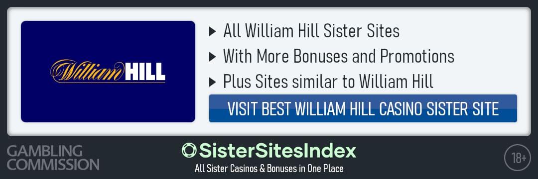 William Hill sister sites